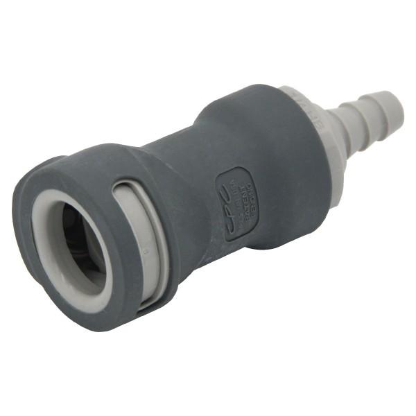 Schnellverschluss CPC-NS4D17004 Kupplung auf 6,4 mm (ID) - Absperrend