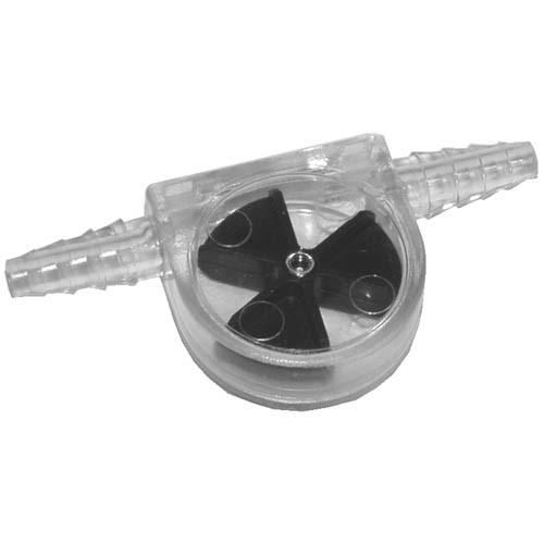 Flow-O-Matic Fließanzeiger schwarz