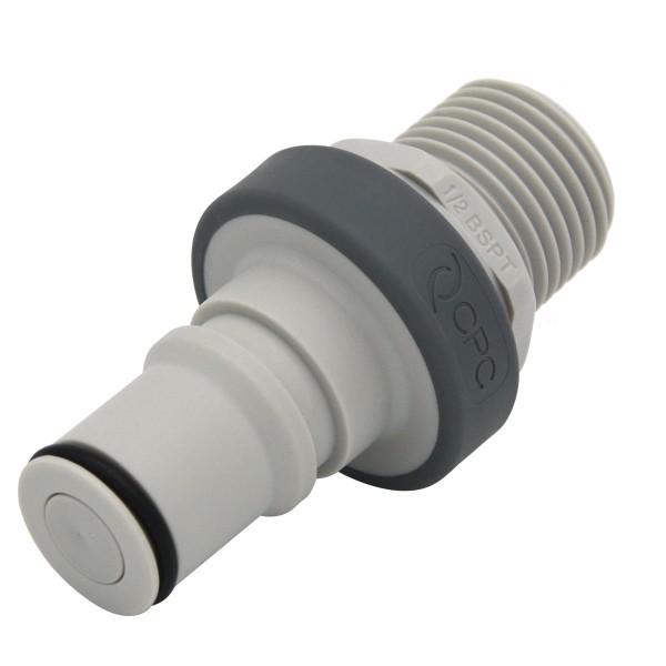 Schnellverschluss CPC-NS6D24008BSPT Stecknippel auf 1/2 Zoll - Absperrend