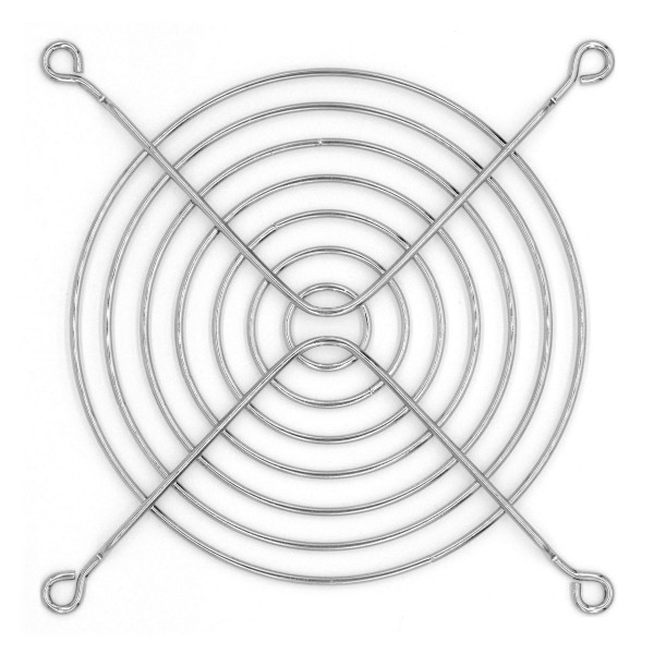 Lüftergitter 120 mm - silber