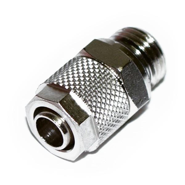 Anschluss 1/4 Zoll auf 10/8 mm (8x1) - Gerade