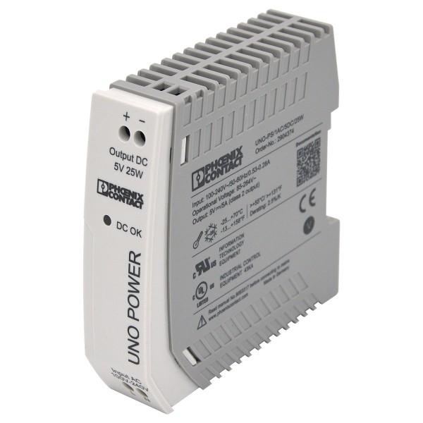 Phoenix Contact UNO-PS/1AC/5DC/25W - 25 Watt