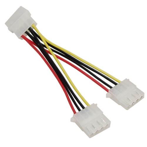 4pin auf 4pin Y-Kabel