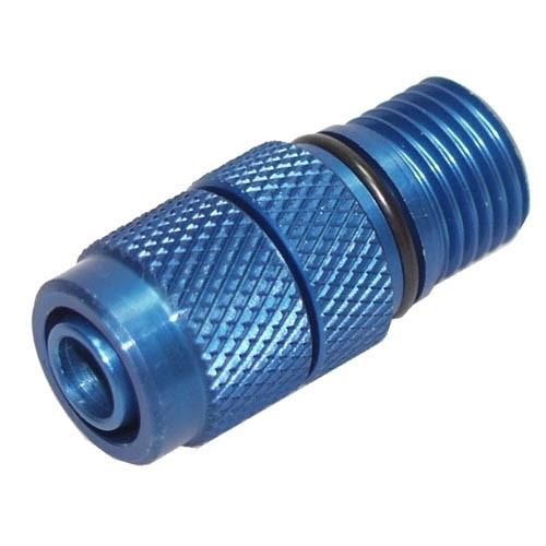 Verschraubung EHEIM 1048 Auslass auf 8x1 (blau)