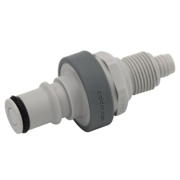 Schnellverschluss CPC-NS4D13006 Kupplung auf 9,5/6,4 mm - Absperrend