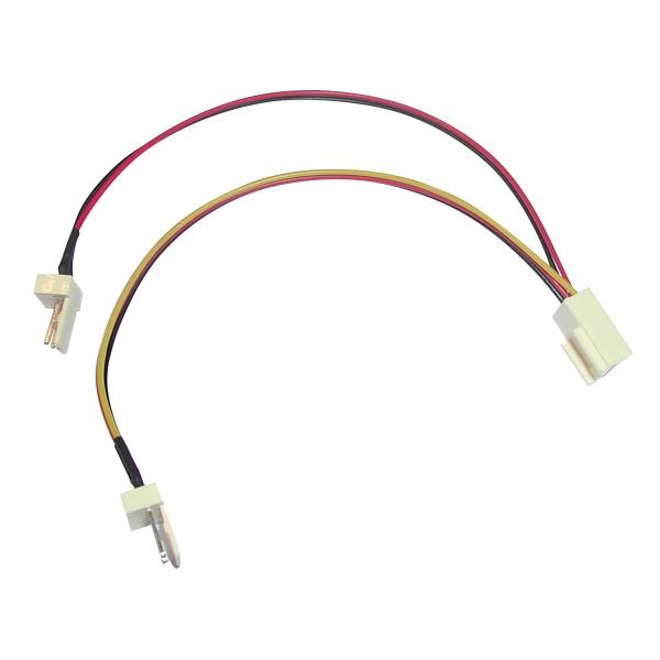 2 auf 1 Molex Adapter Y-Kabel