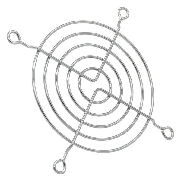 Fan grill 92 mm - silver