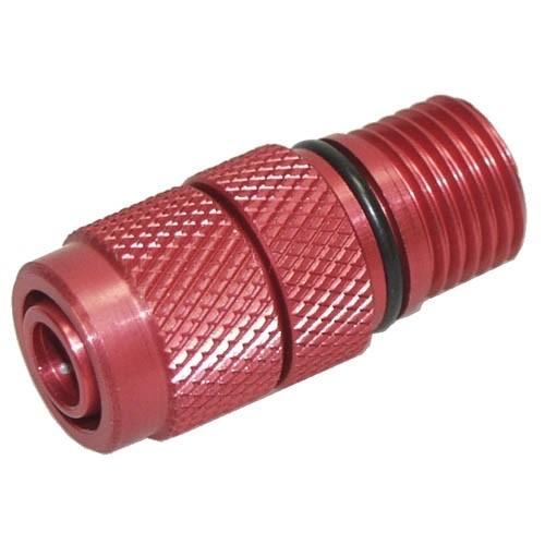 Verschraubung EHEIM 1048 Auslass auf 8x1 (rot)
