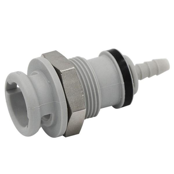 Schnellverschluss CPC-NS2D160212 Kupplung auf 3,2 mm (ID) - Absperrend, Plattenmontage