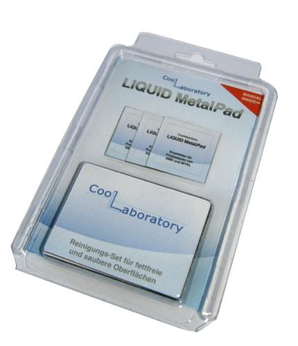 Coollaboratory Liquid MetalPAD 3x CPU 1x RS