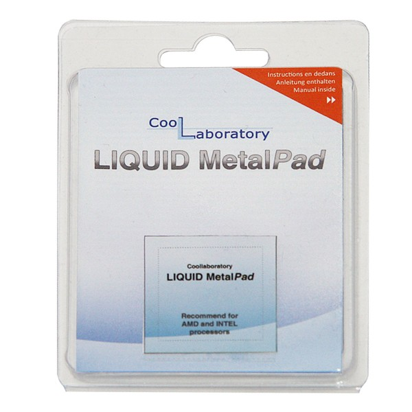 Coollaboratory Liquid MetalPad - 1x CPU