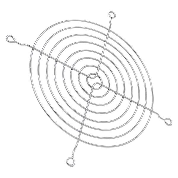 Lüftergitter 140 mm - silber