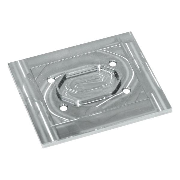 MICROkühler Upgrade-Kühlplatte - Aluminium