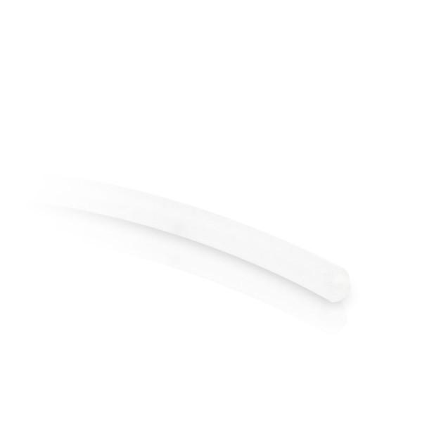 Silikon Schlauch 1,3/0,7 mm - milchig