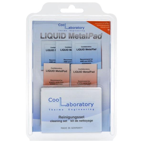 Coollaboratory Liquid MetalPad - 3x CPU 2x GPU