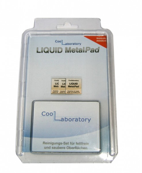 Coollaboratory Liquid MetalPAD 3x GPU 1x RS