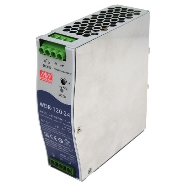 MEAN WELL WDR-120-24 - 120 Watt