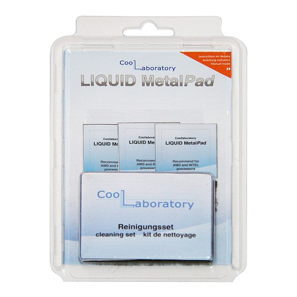 Coollaboratory Liquid MetalPad - 3x CPU