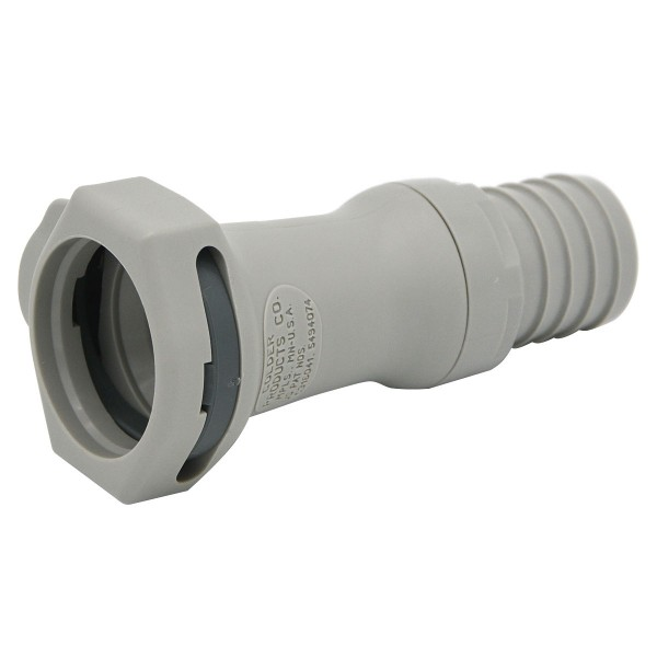 Quick release connector CPC-HFCD17812 coupling on 12.7 mm (ID) - shut-off