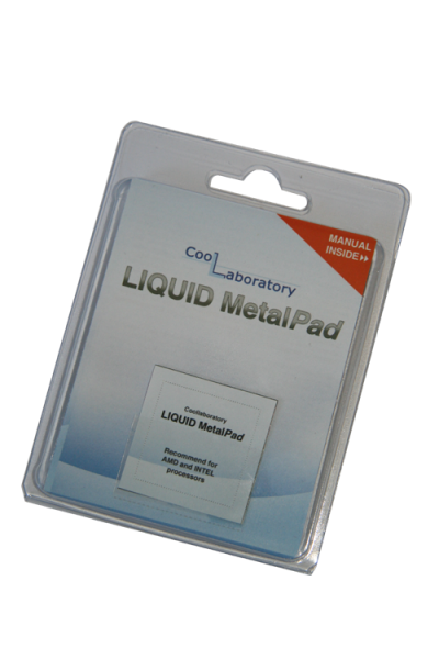 Coollaboratory Liquid MetalPAD 1x CPU
