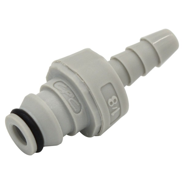 Quick disconnect CPC-NS1D220212 Barbed fitting to 3.2 mm (ID) - Shut off