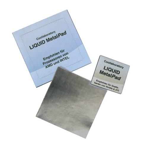 Coollaboratory Liquid MetalPAD 3x CPU 3x GPU 1x RS