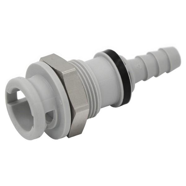 Schnellverschluss CPC-NS2D160412 Kupplung auf 6,4 mm (ID) - Absperrend, Plattenmontage