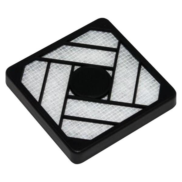 Lüftergitter mit Filter 120 mm - Kunststoff, schwarz